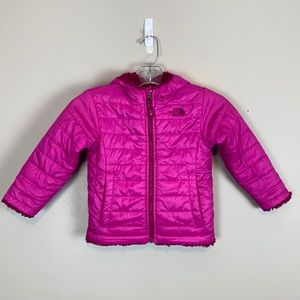 The North Face Reversible Quilted Puffer Jacket 3T